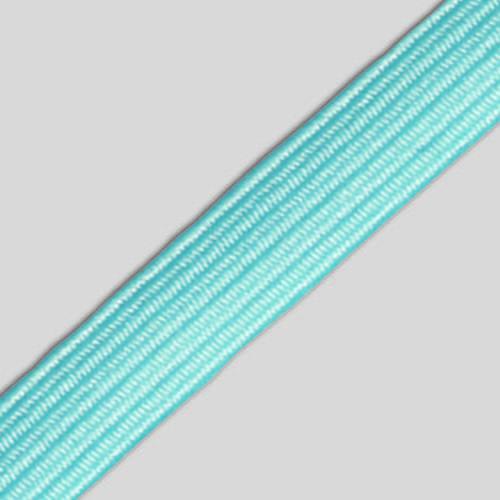 Elástico Chato de Trançadeira 8mm Nº12 colorido - c/10 metros