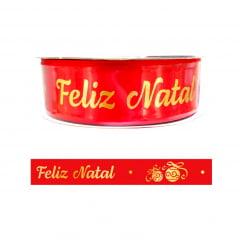 FITA DE CETIM NATAL Nº5 22MM - C/10 METROS