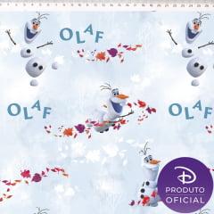TECIDO TRICOLINE DISNEY FROZEN OLAF